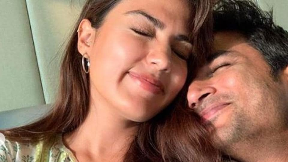 Sushant Singh Rajput and Rhea Chakraborty were dating at the time of his death.