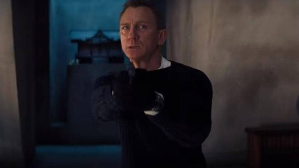 No Time to Die: New trailer for Daniel Craig's final James Bond film piles on the action. Watch – hollywood