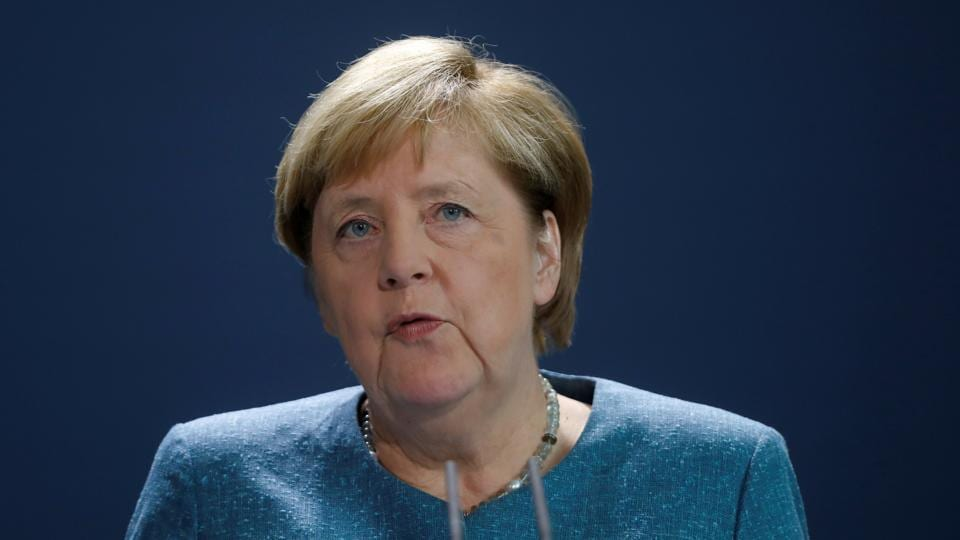 """Merkel said tests showed """"unequivocally"""" that Navalny was poisoned by a military-grade novichok nerve agent and called on the Russian government to provide answers."""