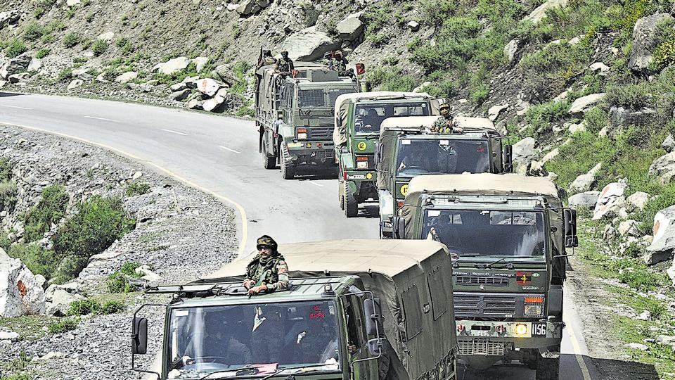 The situation in eastern Ladakh remains tense and both India and China reinforcing their positions by deploying more troops.