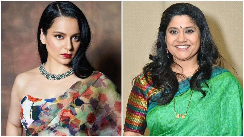 Kangana Ranaut and Renuka Shahane are engaged in a war of tweets.