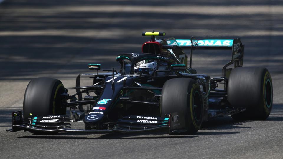 Formula One F1 - Italian Grand Prix - Autodromo Nazionale Monza, Monza, Italy - September 4, 2020 Mercedes' Valtteri Bottas during practice Mark Thompson/Pool via REUTERS
