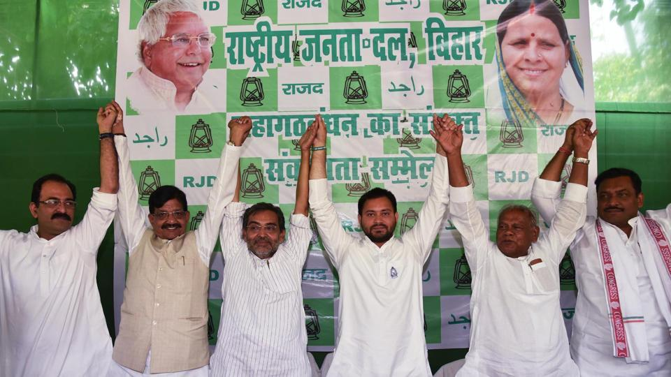 Leaders of the Congress, RJD, and Left parties said the alliance would have a common agenda apart from their party-wise manifestos.
