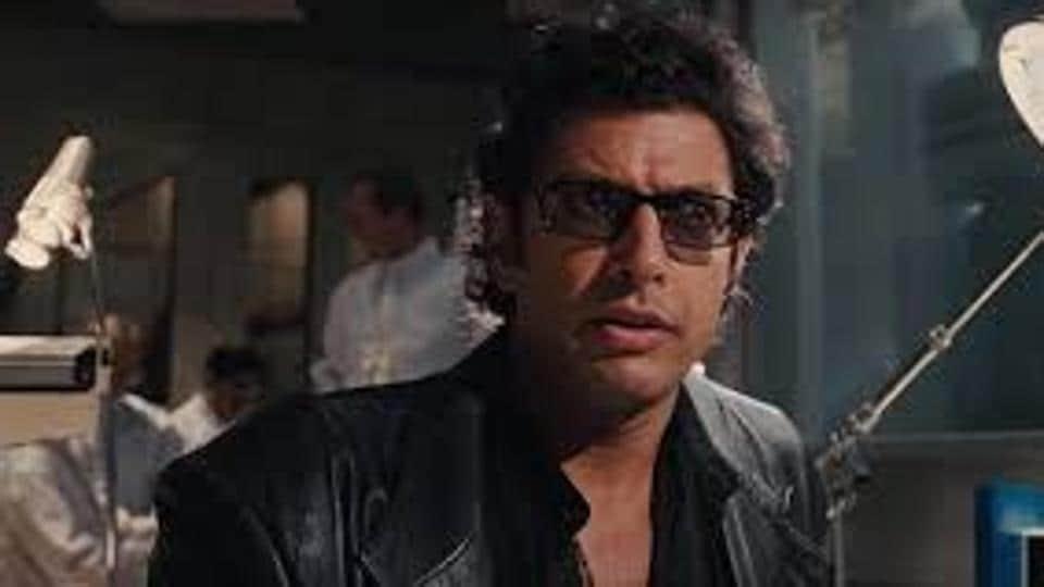 Jeff Goldblum is filming Jurassic World Dominion.