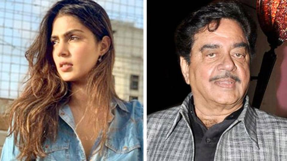 'Will Sushant Singh Rajput be pleased with treatment given to Rhea Chakraborty?': Shatrughan Sinha asks actor's fans – bollywood