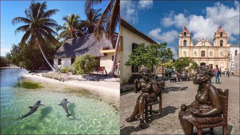 Tourists welcome in Cuba after months of COVID-19 lockdown