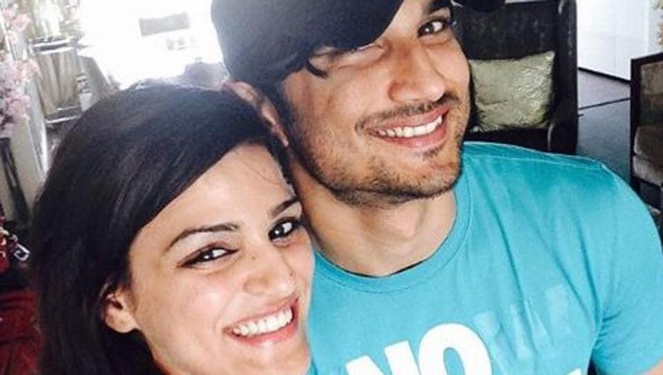 Sushant Singh Rajput poses with his sister Shweta Singh Kirti.