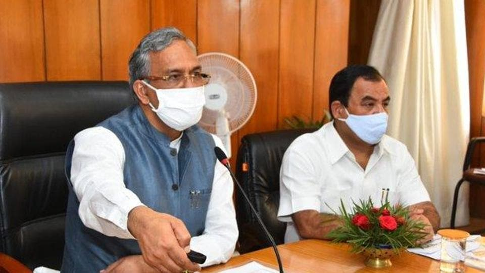 uring the last nearly three and a half years, the work of conservation and revival of the rivers, lakes, ponds and waters of the state has been done on a large scale, said CM Rawat. (Photo @tsrawatbjp)