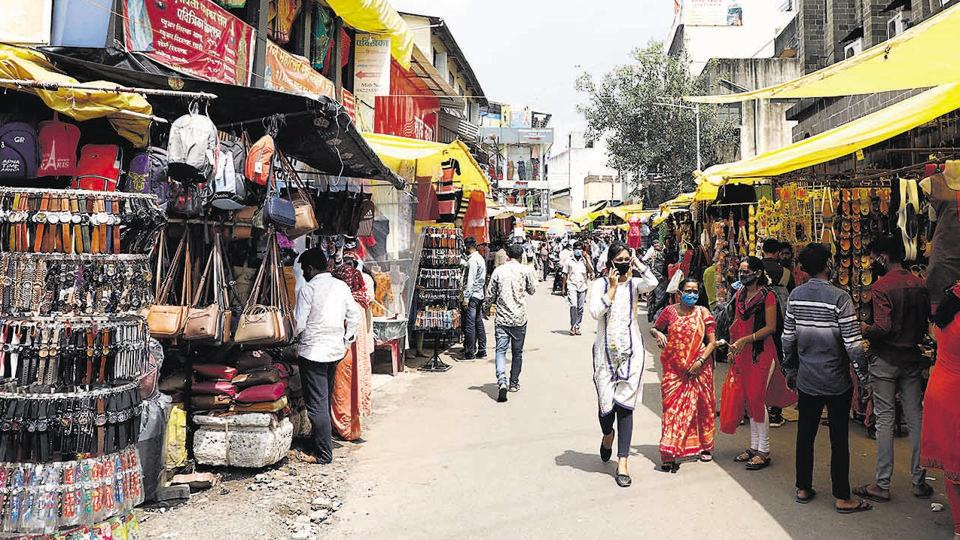 One of the oldest, and a bell-whether for small business operations in the city - Tulshibaug market – has 800 shop owners and registered hawkers lining Bajirao road, in the heart of the city.