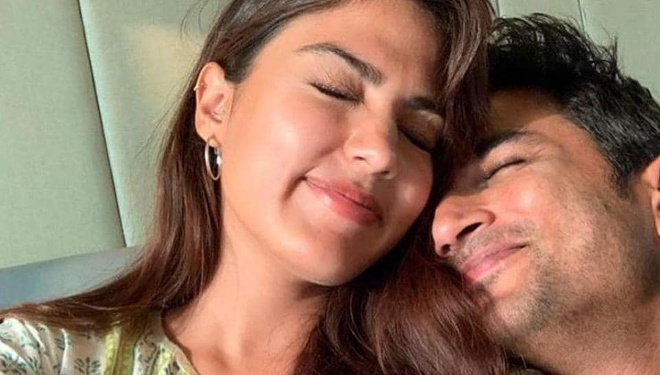 Rhea Chakraborty and Sushant Singh Rajput were in a live-in relationship.