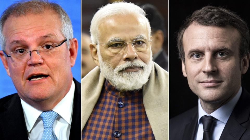 President Emmanuel Macron had called for the trilateral strategic alliance with Australia and India in 2018