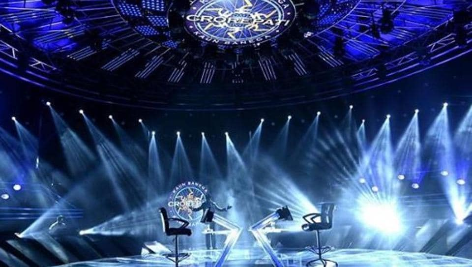 Amitabh Bachchan shared a new picture of the KBC 12's sets.