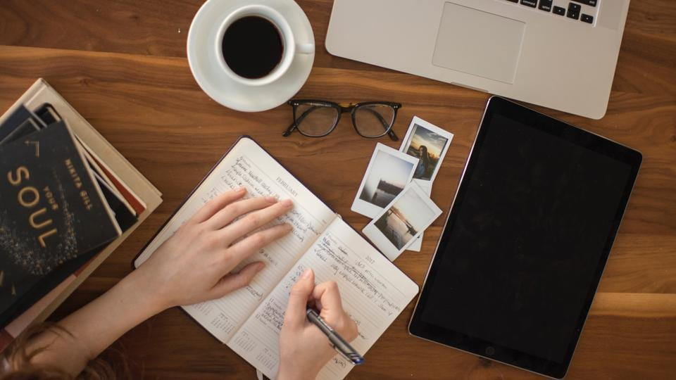 Journalling helps you calm down and feel good. Here's how to write your anxiety away