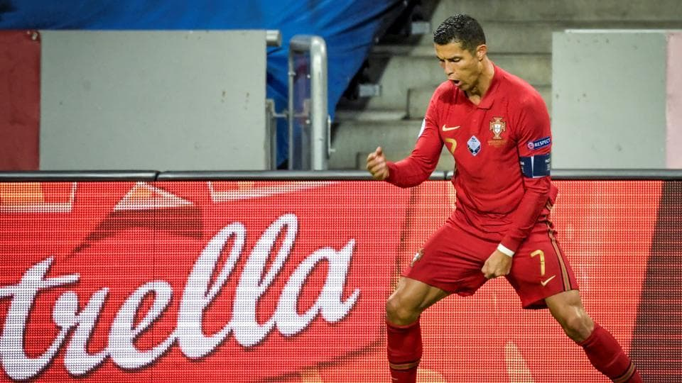 Ronaldo reaches century of goals for Portugal; Griezmann stars in France's 4-2 win