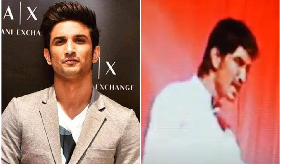 Videos of Sushant Singh Rajput performing in a play go viral, fans say 'good actor from the beginning'. Watch – bollywood
