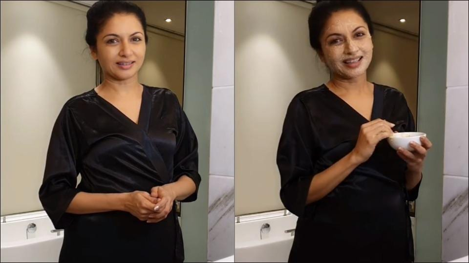 Bhagyashree spills the beans on her 'pampering skin routine'