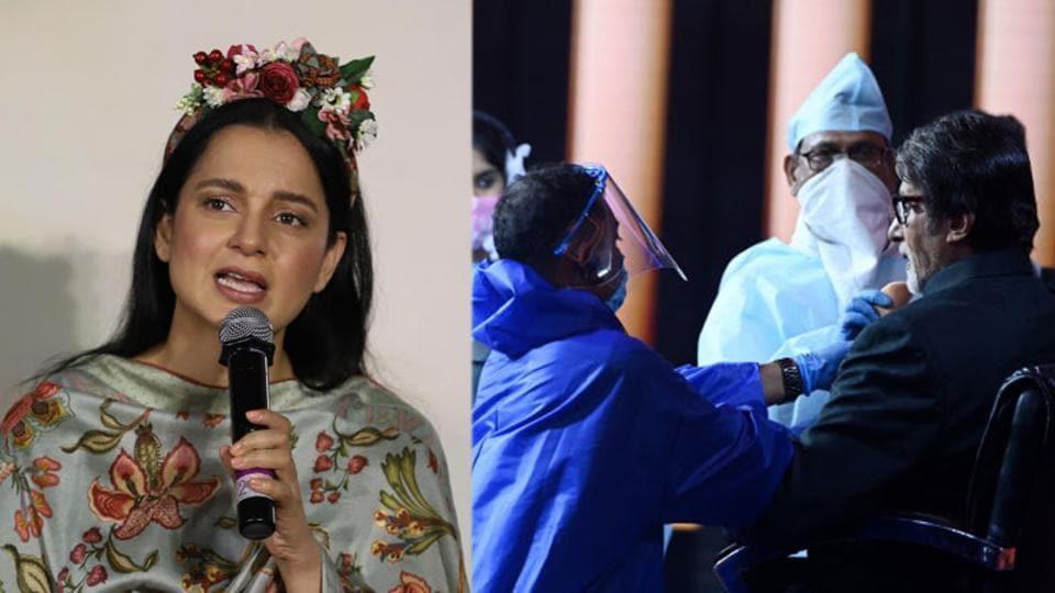 Kangana Ranaut slams 'Bullywood activists', Amitabh Bachchan shoots for Kaun Banega Crorepati