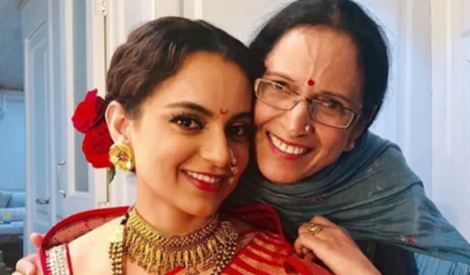 Kangana Ranaut was 'pleasantly surprised' by her mother's statement.