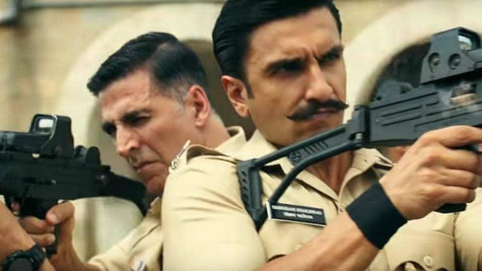 Ranveer Singh crashes Akshay Kumar's live interaction with Bear Grylls, says 'mooch is looking kadak' – bollywood