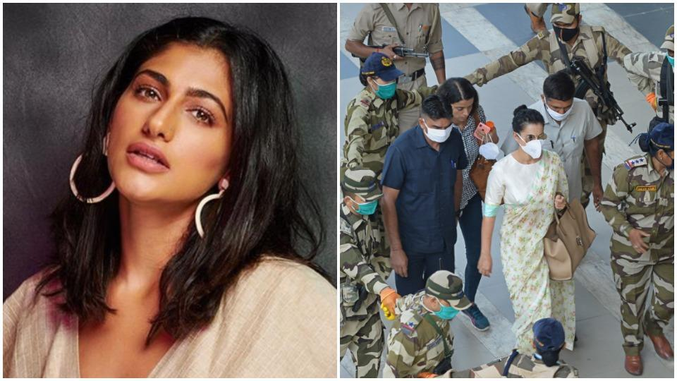 'How much tax have you paid?': Rangoli Chandel asks Kubbra Sait as actor questions Y-plus security for Kangana Ranaut