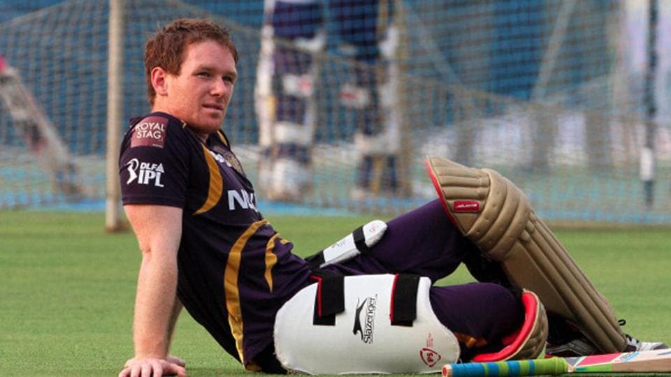 Eoin Morgan has earlier played for KKR as well.
