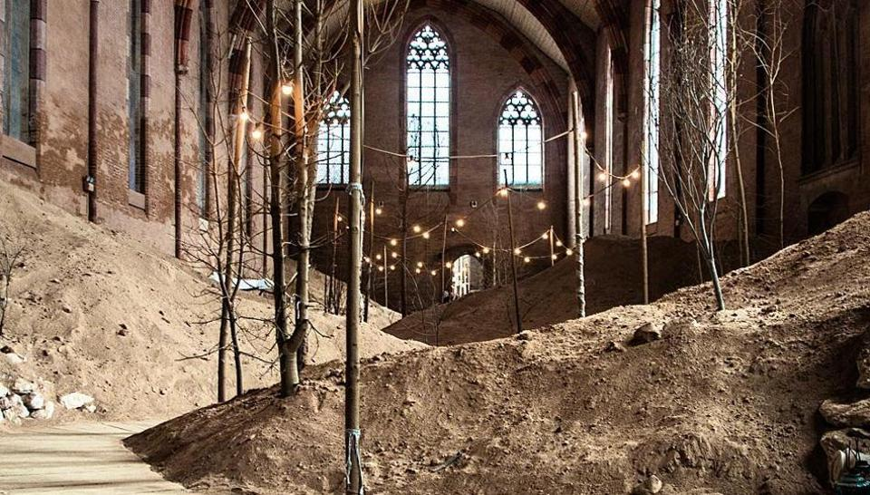 The 'Garden of Whispers' has an almost confessional atmosphere.