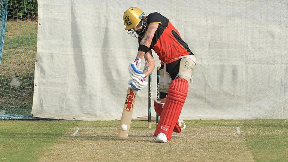 Virat Kohli was batting in top gear.