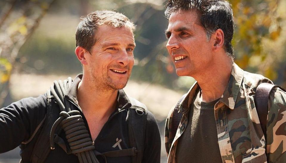 Akshay Kumar revisits old life as waiter on Into The Wild with Bear Grylls: 'I have lots of money. But... - Hindustan Times