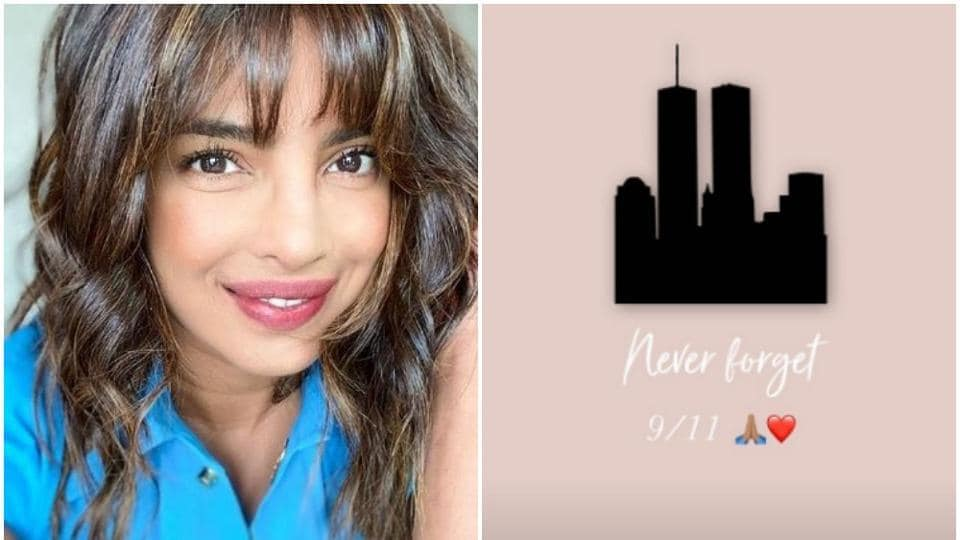 Priyanka Chopra pays tribute to victims of September 11 attacks: 'Never forget'