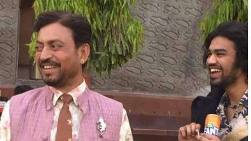 Irrfan Khan's son Babil shares BTS pics from Angrezi Medium as he heads to London: 'Last time I left baba was still there'