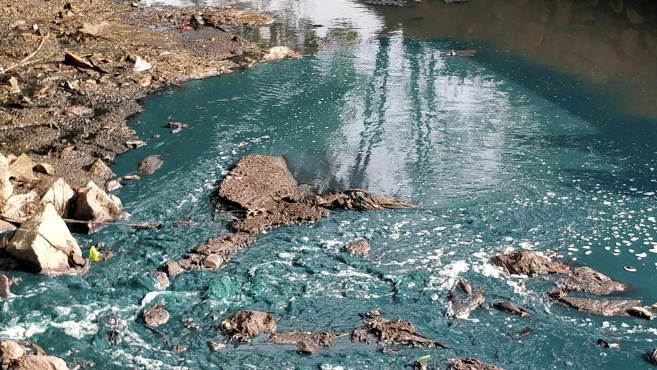 Petitioner Vanashakti told the Supreme Court that Ulhas river turned turquoise after an industrial unit discharged textile-finishing dye into the water body.