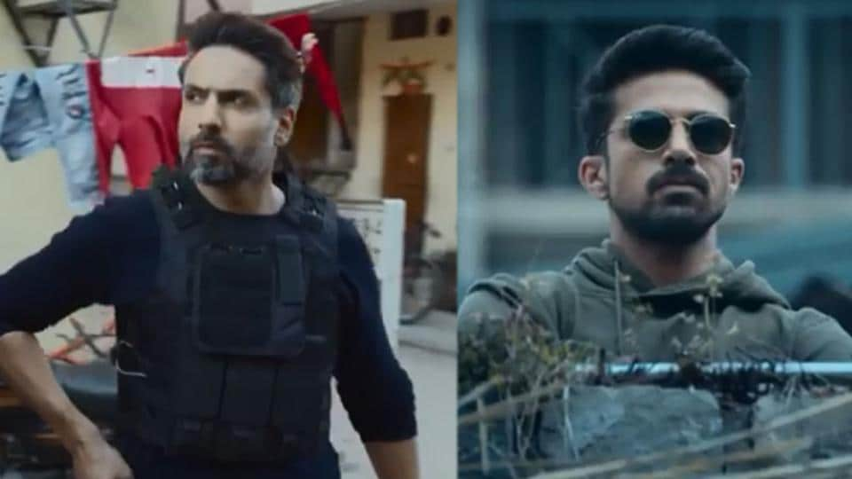 Amitabh Bachchan unveils Crackdown teaser, Saqib Saleem and Iqbal Khan indulge in some hardcore chase sequences