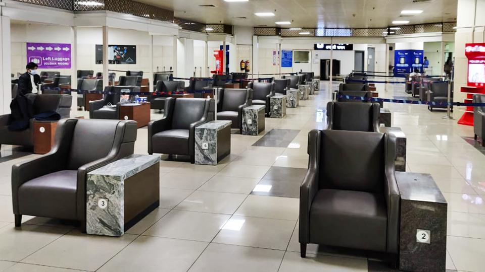 The facility has been constructed in a 3,500 square metre area at the multi-level car park of Terminal 3. It is the first such arrangement among Indian airports.