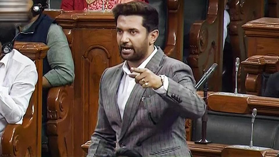 """The LJP leader also stood firm behind Ranaut, claiming she was targeted by the state government. Chirag said that he believes it was the """"death of democracy"""" if people are gagged from asking questions."""