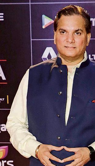 Mumbai, April 06, 2016 : lalit Pandit attended the GiMA Awards in Mumbai. (Freelance photo by Yogen Shah)