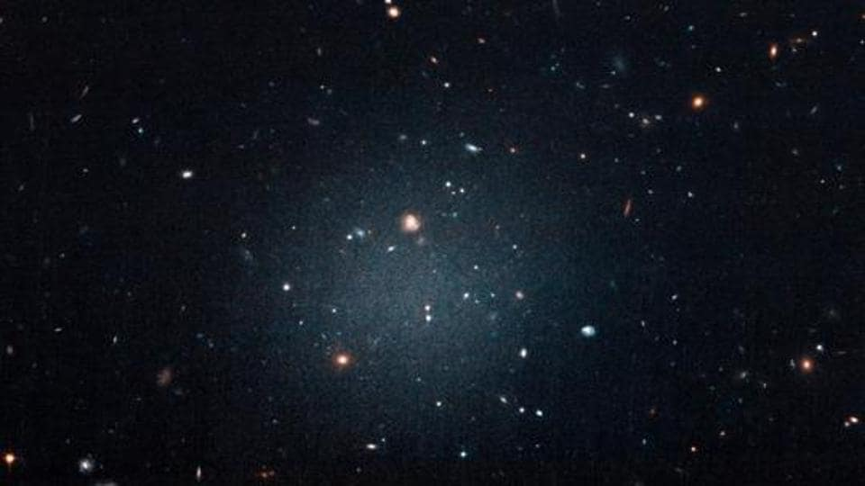 Dark matter is the invisible glue that holds stars together inside a galaxy.