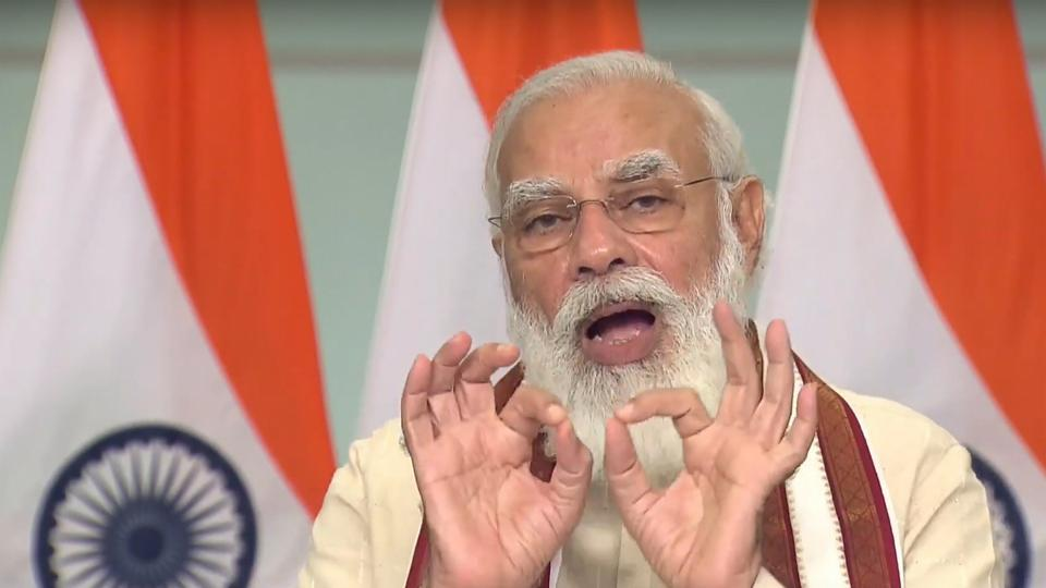 People should not lower their guard against coronavirus until an effective medicine is found, PM Modi said. (Photo: PTI)