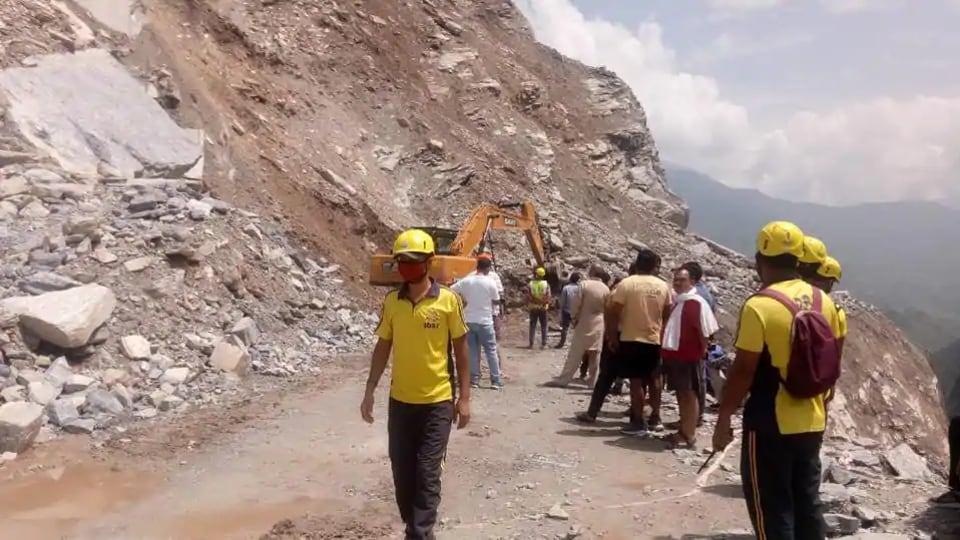 Landslides have blighted Uttarakhand this monsoon.