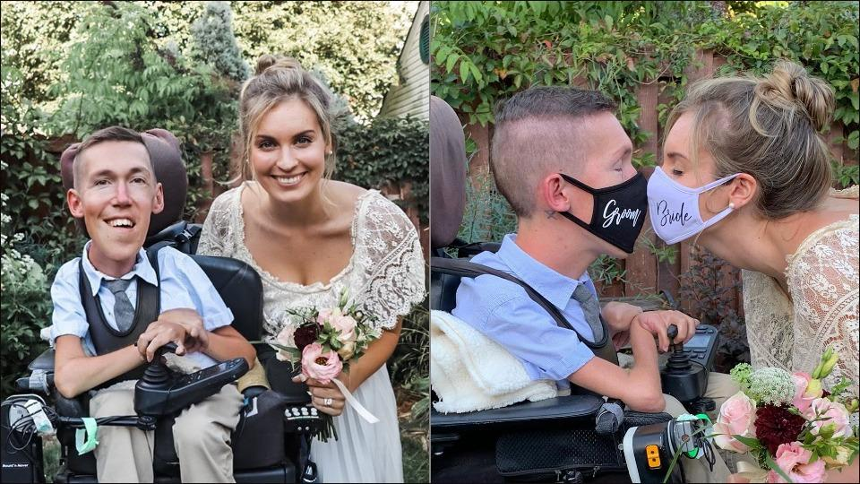 YouTube's interabled influencers break another stigma with their fairytale wedding
