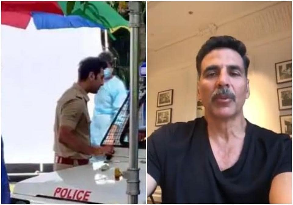 Akshay Kumar posts video thanking fans for celebrating his birthday, Ranbir Kapoor spotted at new project shoot
