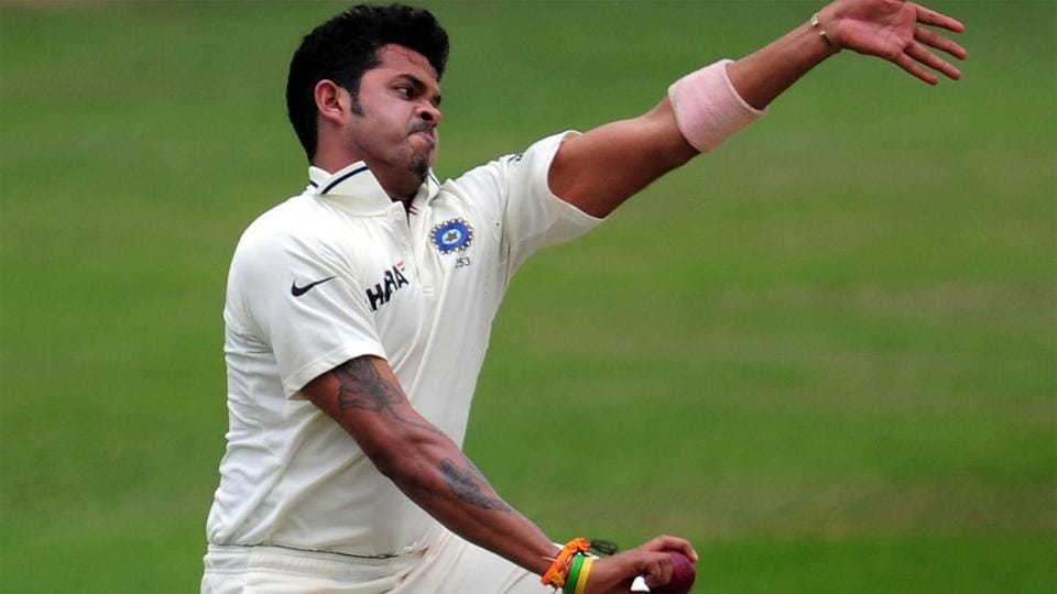 S Sreesanth last played for India in 2011.