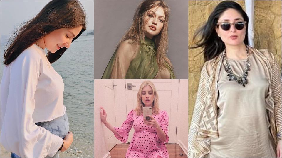 Anushka Sharma, Kareena Kapoor Khan, Emma Roberts and Gigi Hadid's jaw-dropping pregnancy looks