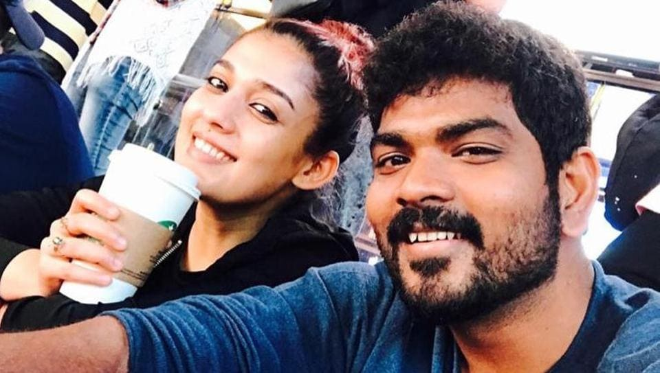 Nayanthara and Vignesh Shivn on an earlier holiday in New York.