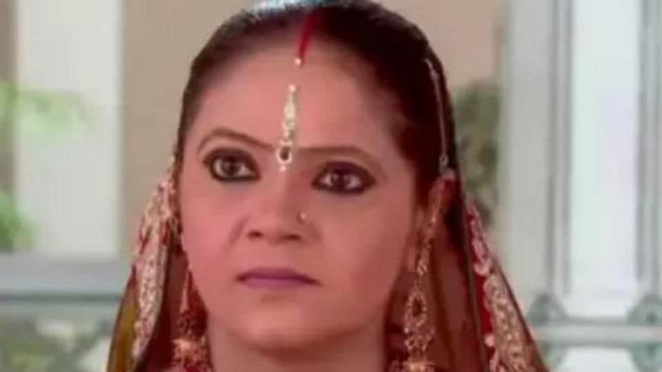 Rupal Patel in a still from Saath Nibhana Saathiya.