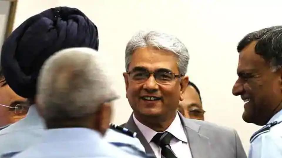 Former defence secretary Shashi Kant Sharma