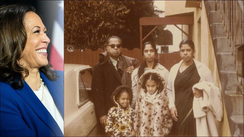 Grandparents Day: Kamala Harris takes a trip down memory lane