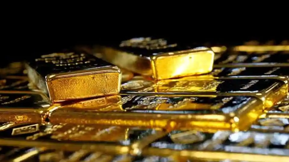 Gold price in India.
