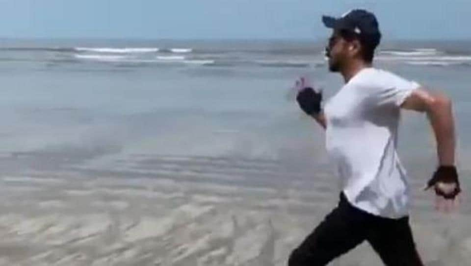 Anil Kapoor in his latest fitness video.