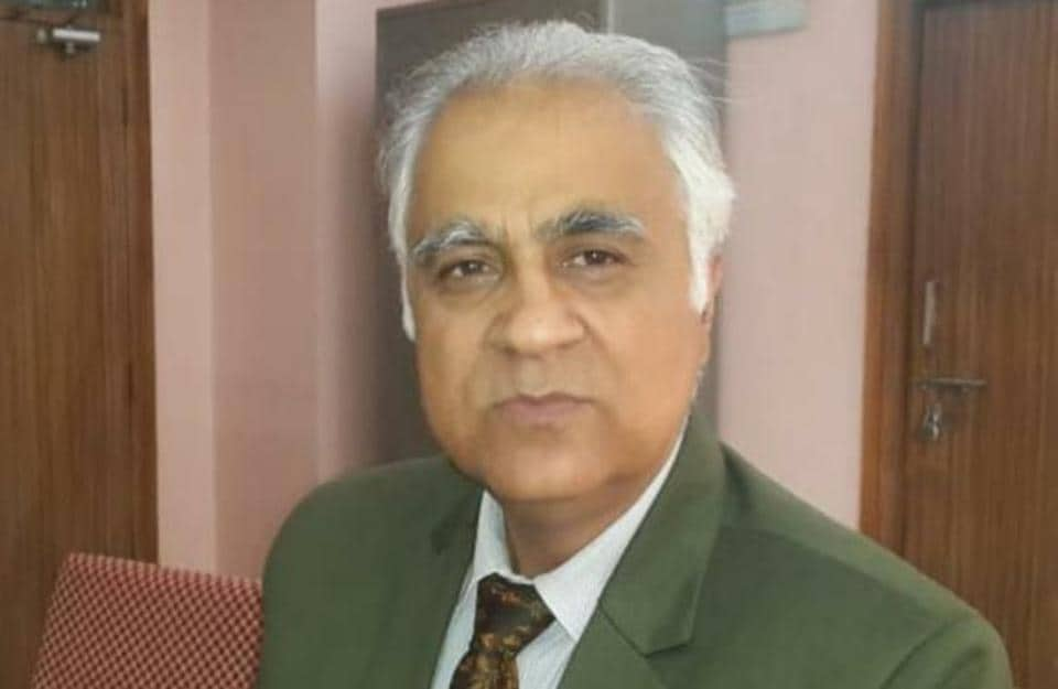 Jammu Government Medical College and Hospital principal Dr Nasib Chand Digra.