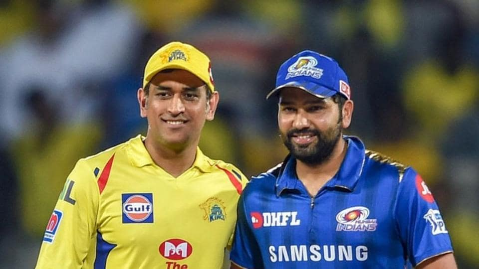 File image of MSDhoni and Rohit Sharma.